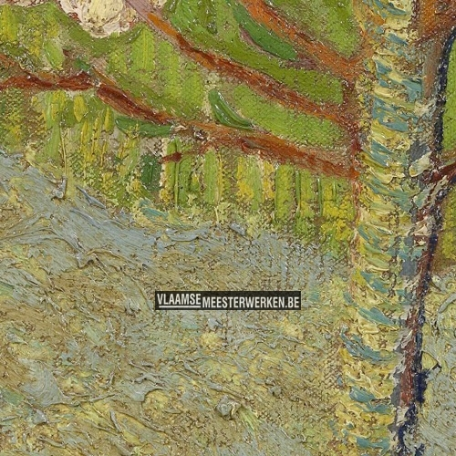 Amandelboom in bloei | Vincent van Gogh